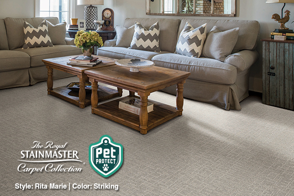 Shop our Featured Royal Stainmaster Pet Protect flooring in the Online Product Catalog.